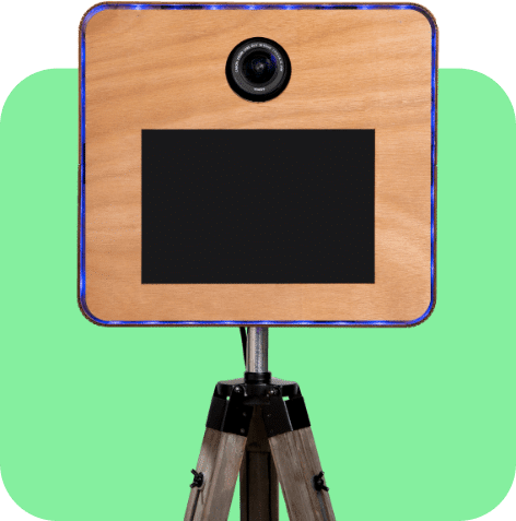 Photo booth box made by Pixel Photo Booth