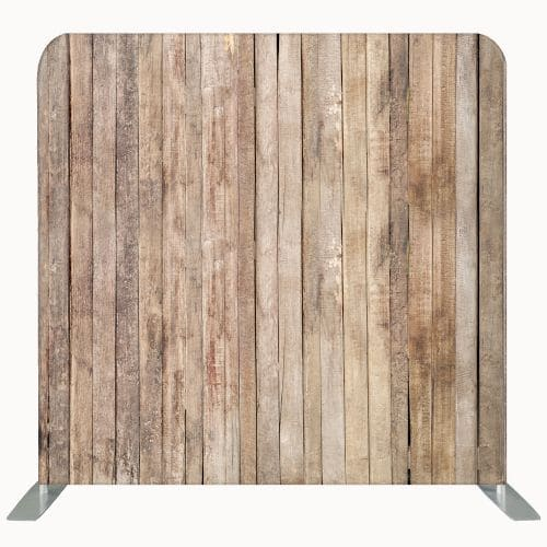 Wooden pallet styled fabric photo backdrop